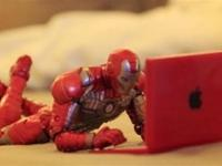 Iron Man During Free Time