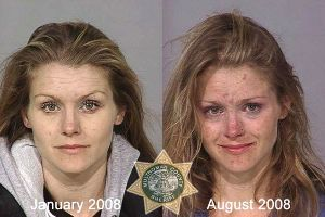 If you think pics of Korean before and after plastic surgery are gross, those mugshots of drug users are worser