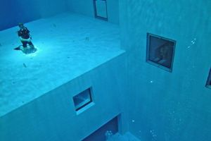 The Deepest Man Made Swimming Pool In The World. You'll Sh*t Your Pants When You See This (11 pics)