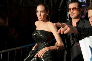 Angelina`s Hubby Gets Hit At Her Maleficent Premiere